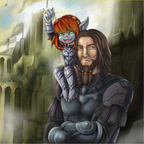 Guild Wars 2 Art @Sockensusu