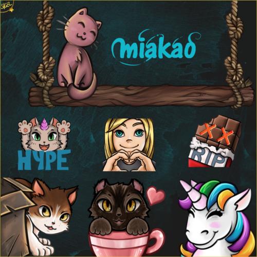 Emotes und Banner @Miakao