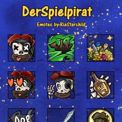 Emotes @DerSpielpirat